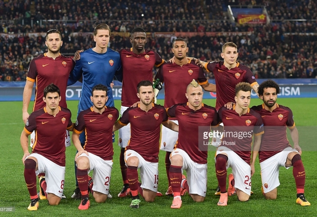 Squad Terbaru AS Roma 2016/2017