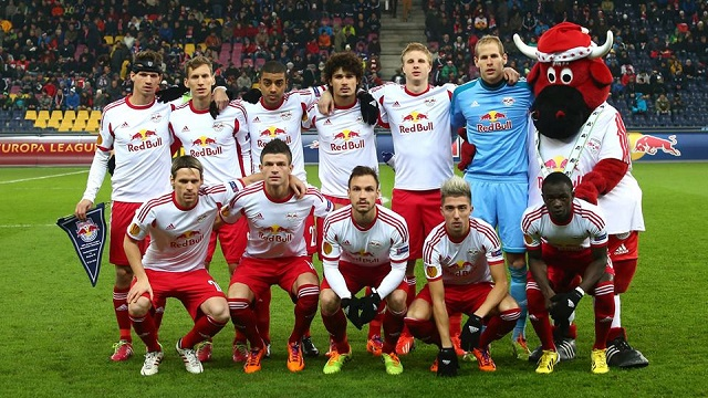 Squad Team Red Bull Salzburg 2016/2017