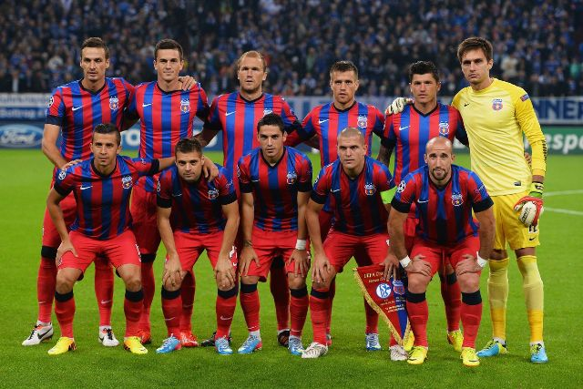 Squad Team Steaua Bucharest 2016/2017