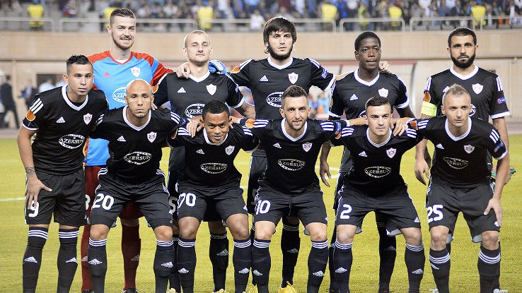Squad Team Qarabag FK 2016/2017
