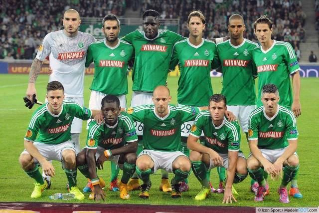 Squad AS Saint-Étienne 2016/2017